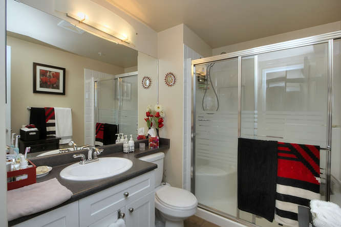 Ensuite Bathroom Edmonton sophisticated downtown edmonton condo - edmonton condo and real