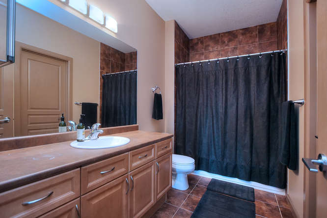 Ensuite Bathroom Edmonton southwest edmonton concrete condo: 160 magrath road - edmonton